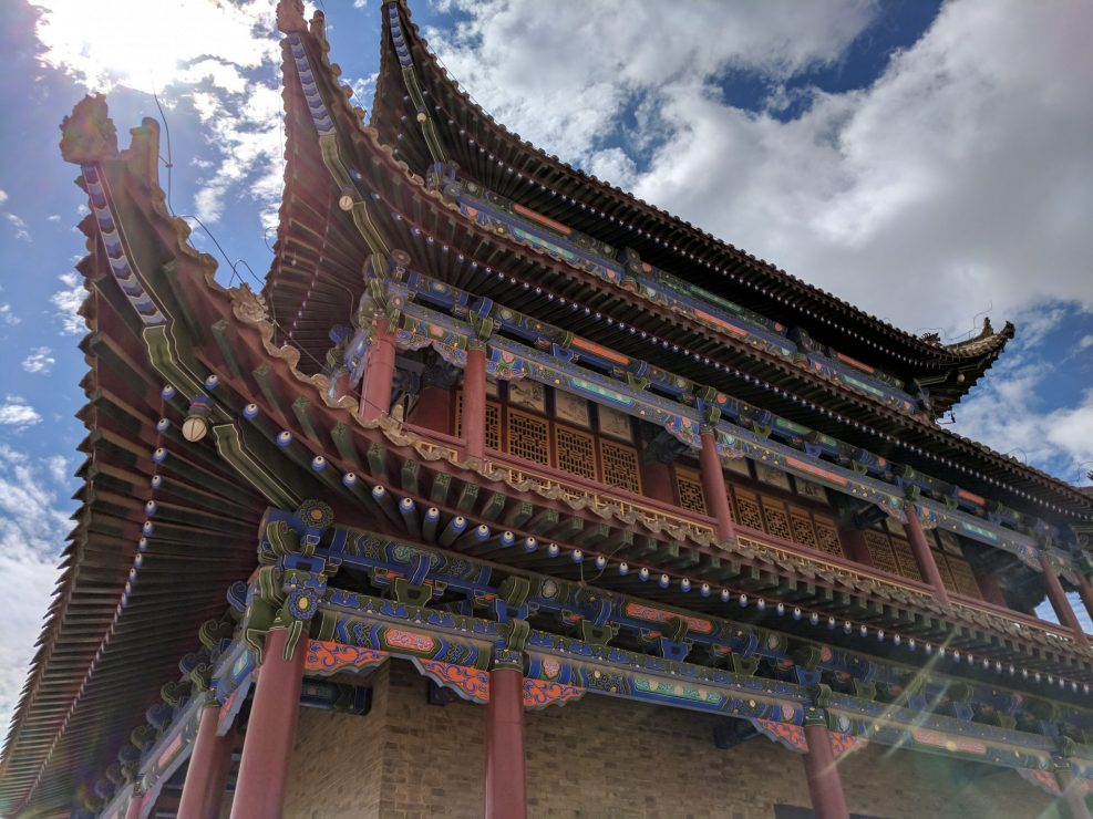 Main Building of Jiayuguan Fort