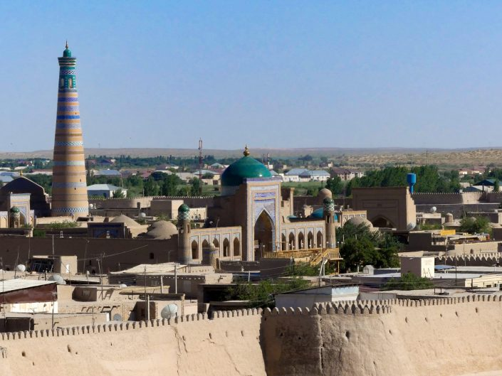 Khiva from above