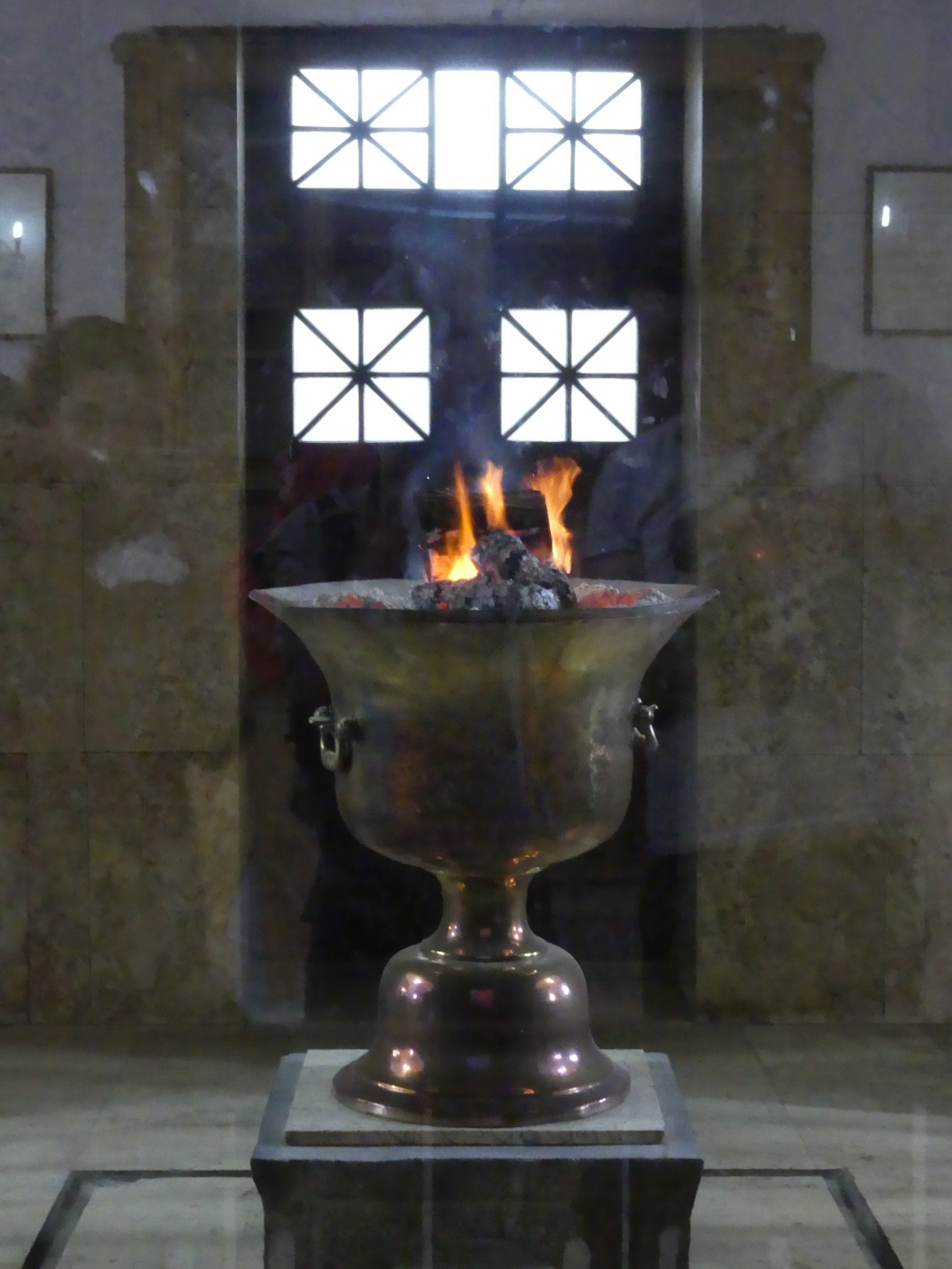 Fire Goblet at the Yazd Astash Behram Temple