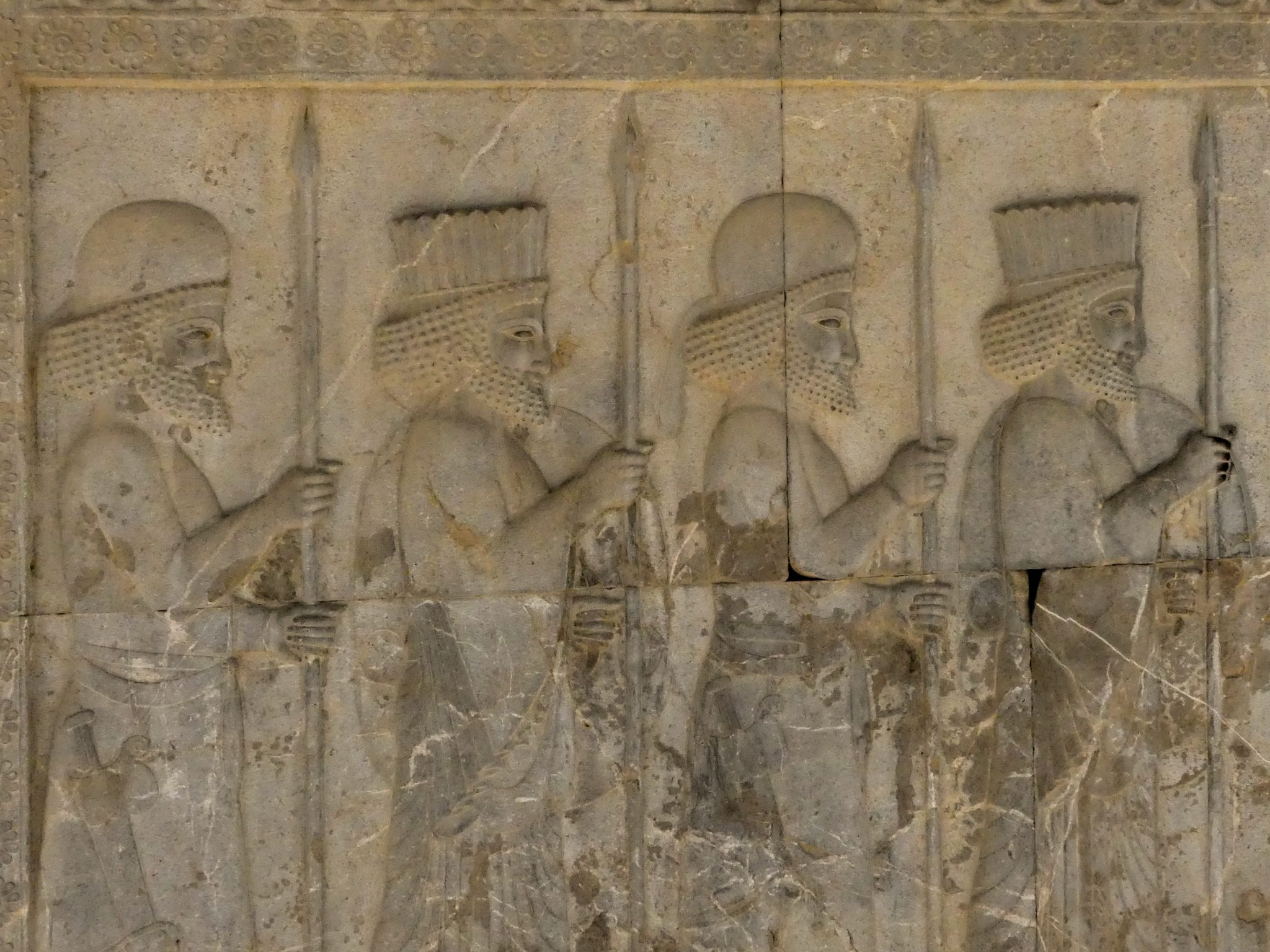 Persepolis Guard Carvings