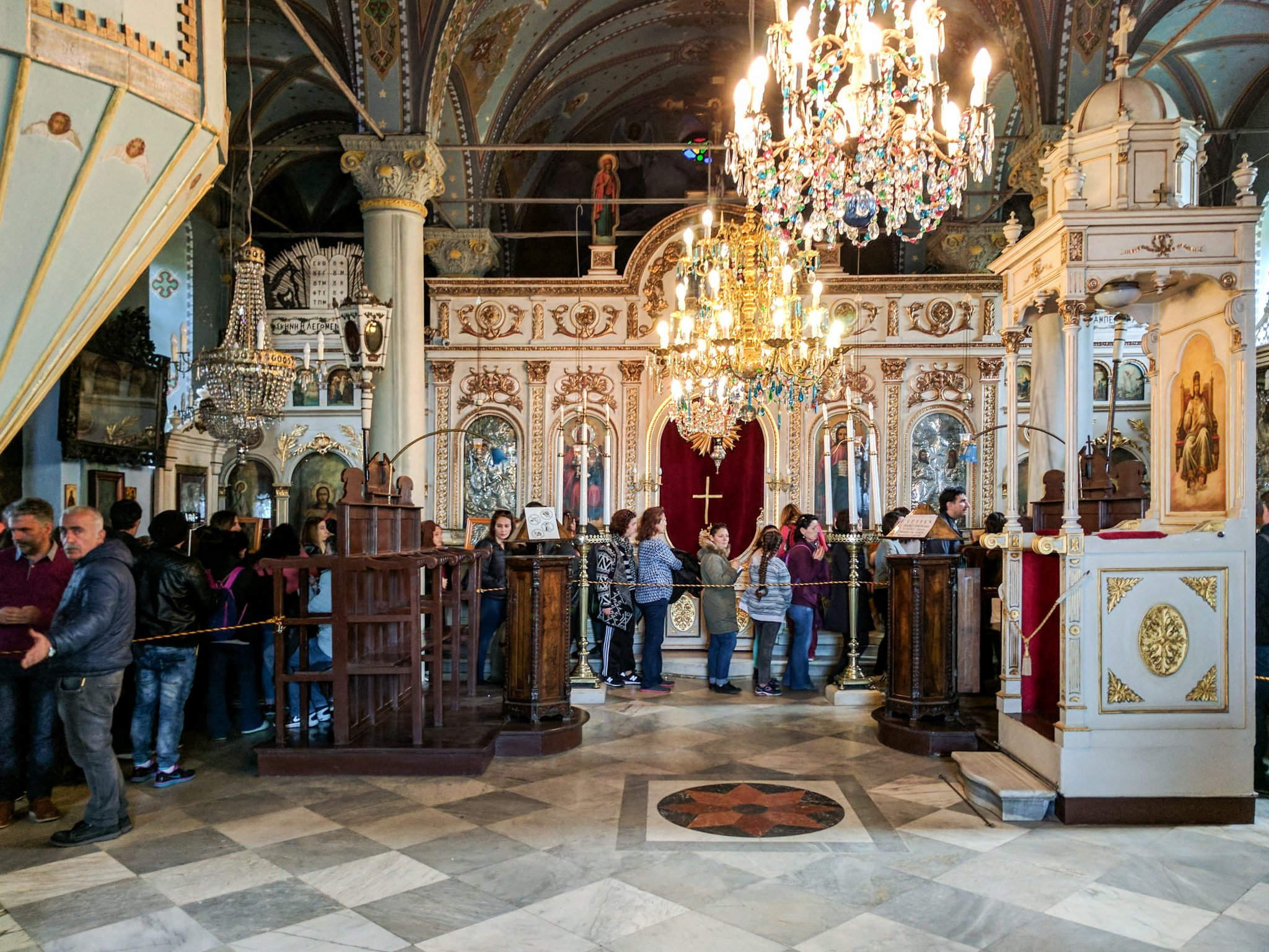Interior of the St George's Monastery
