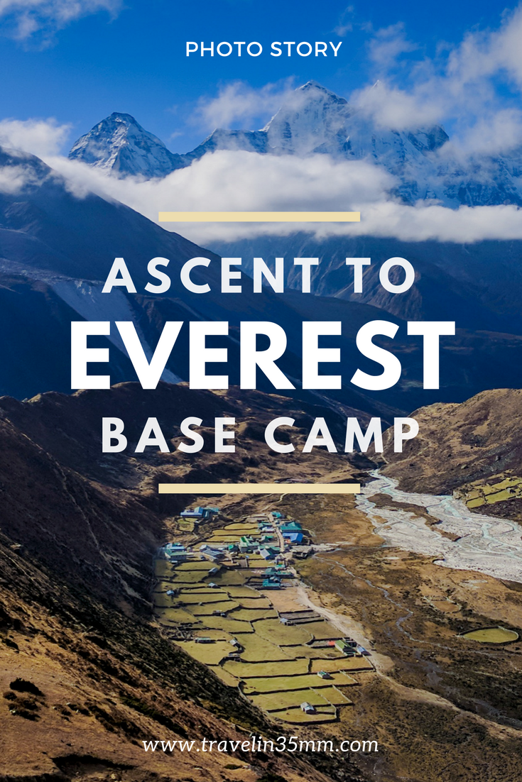 Ascent to Everest Base Camp