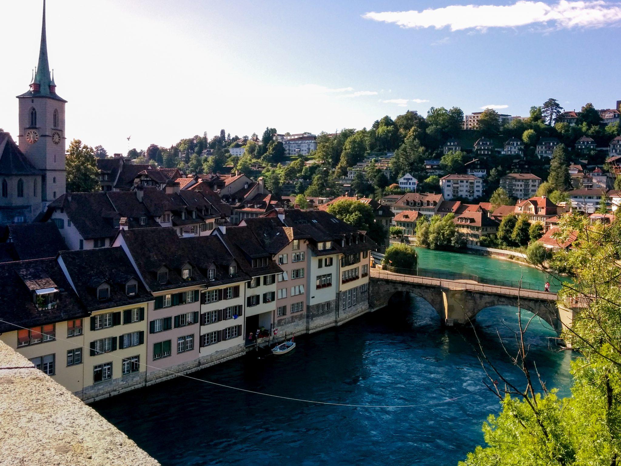 Bern Aare River