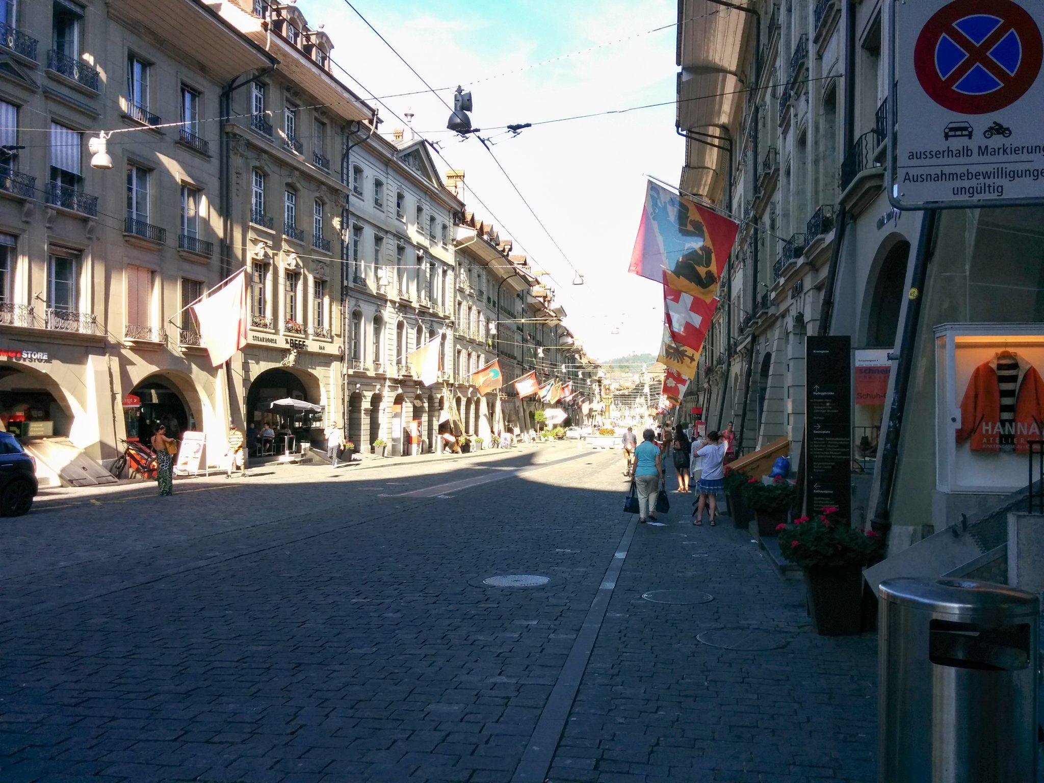 Bern Einsteinhaus Street