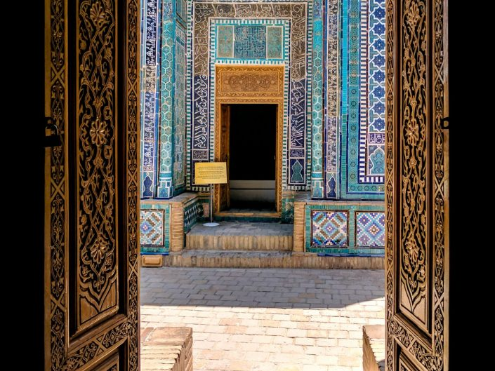 Door in Samarkand