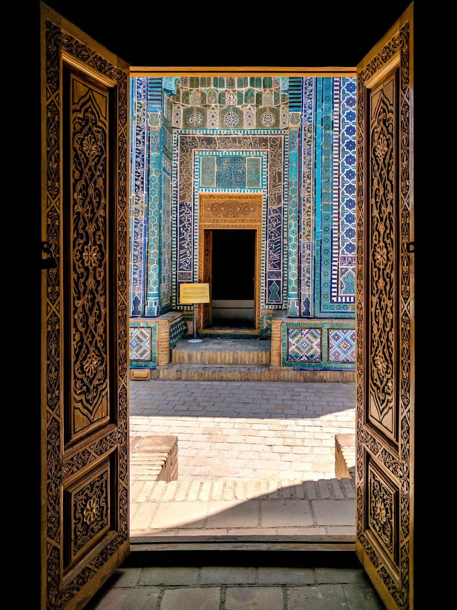 Door in Samarkand