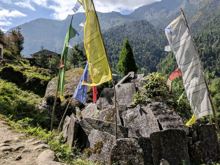 Everest Trek Flags