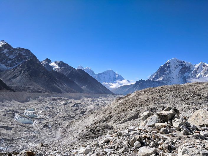 Everest Trek Gorak Shep View