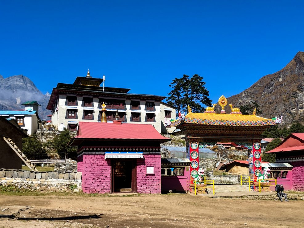 Everest Trek Monastery