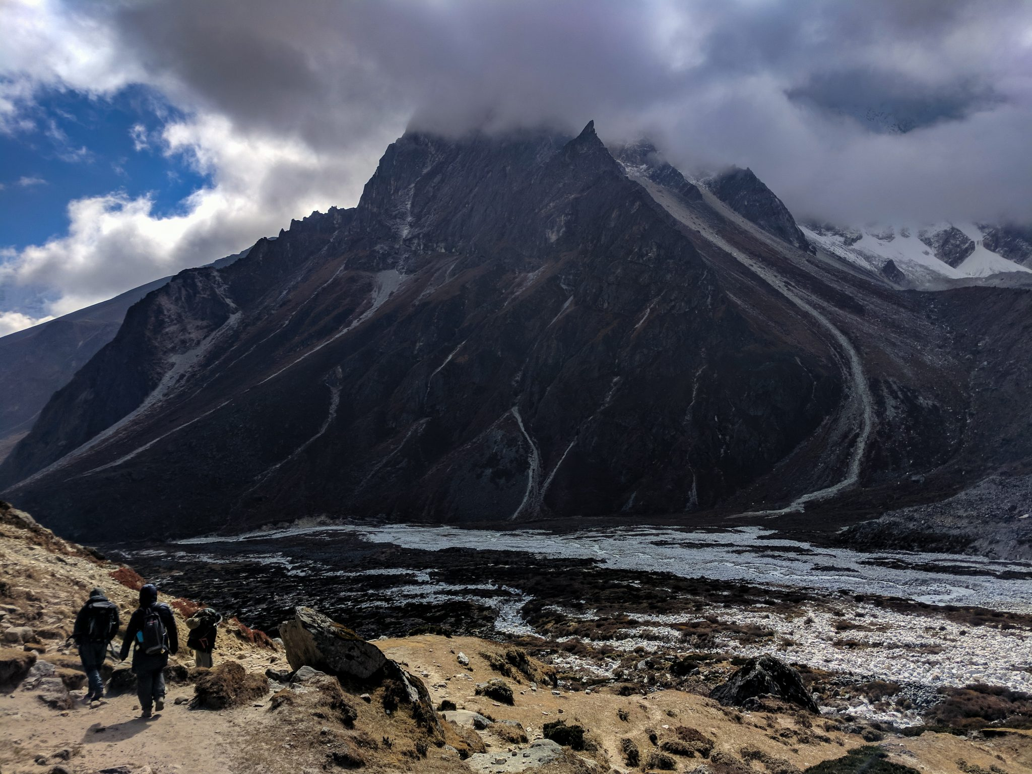 Everest Trek Mountain near Pheriche