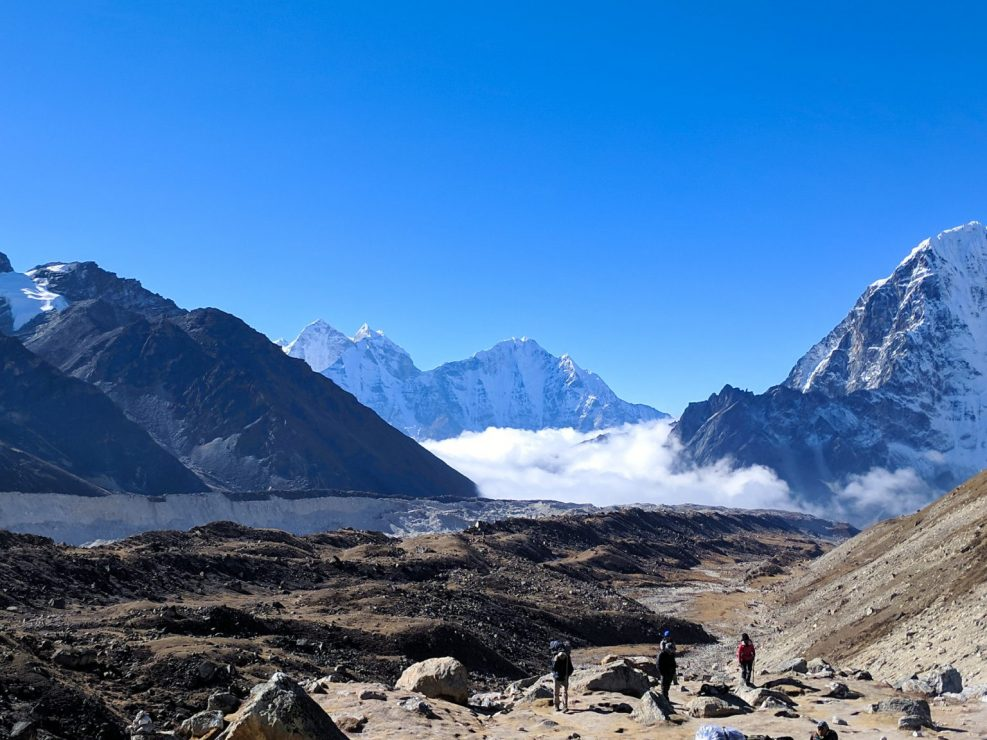 Everest Trek Near Gorak Shep