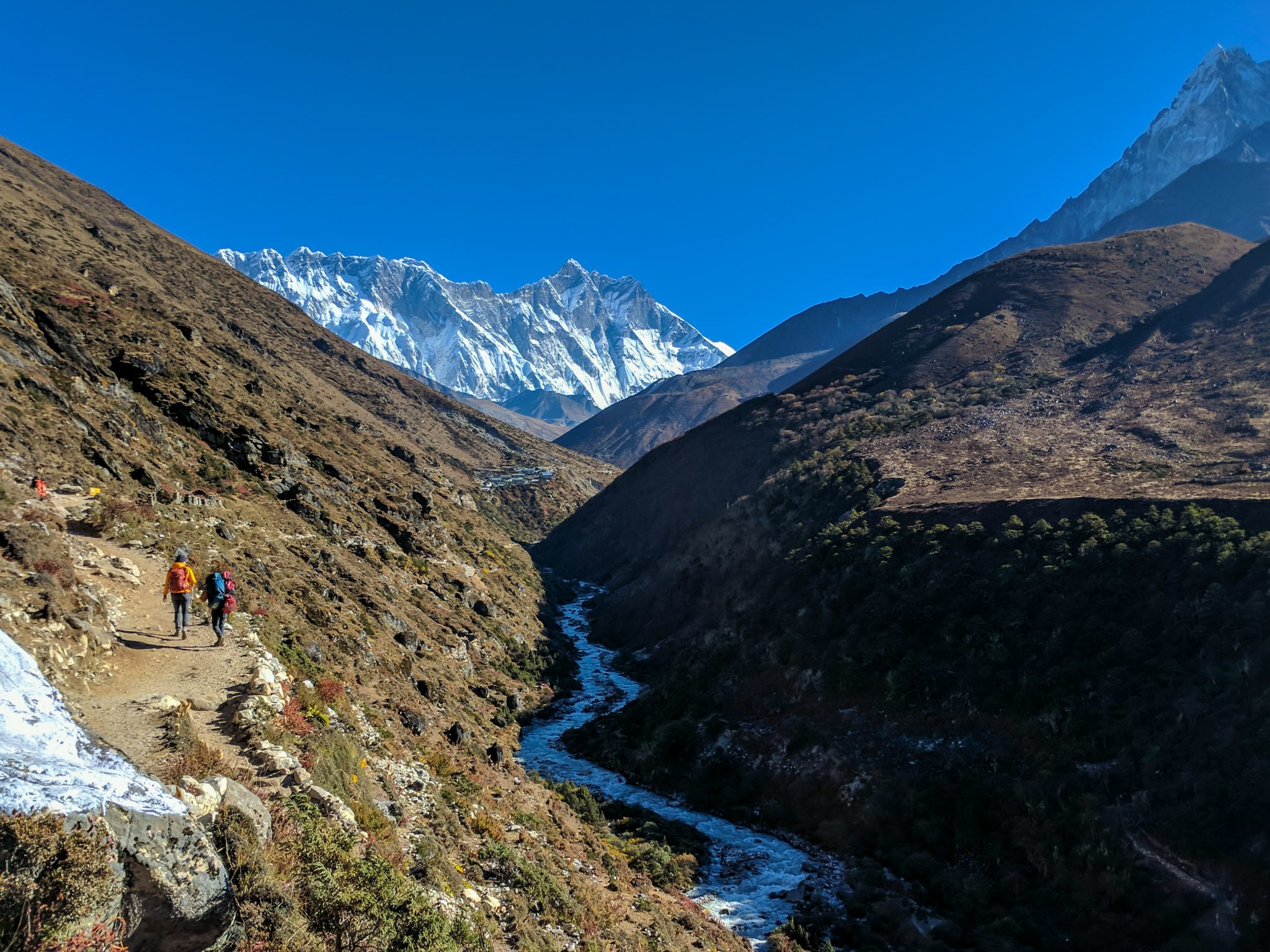 Everest Trek River