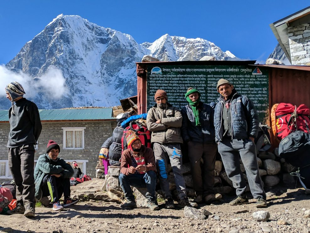 Everest Trek Sherpas