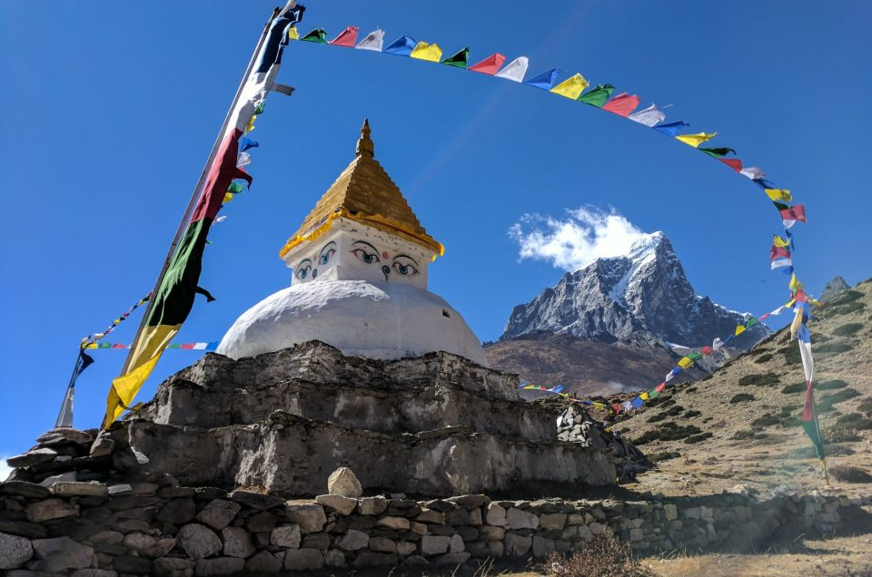 Everest Trek Stupa