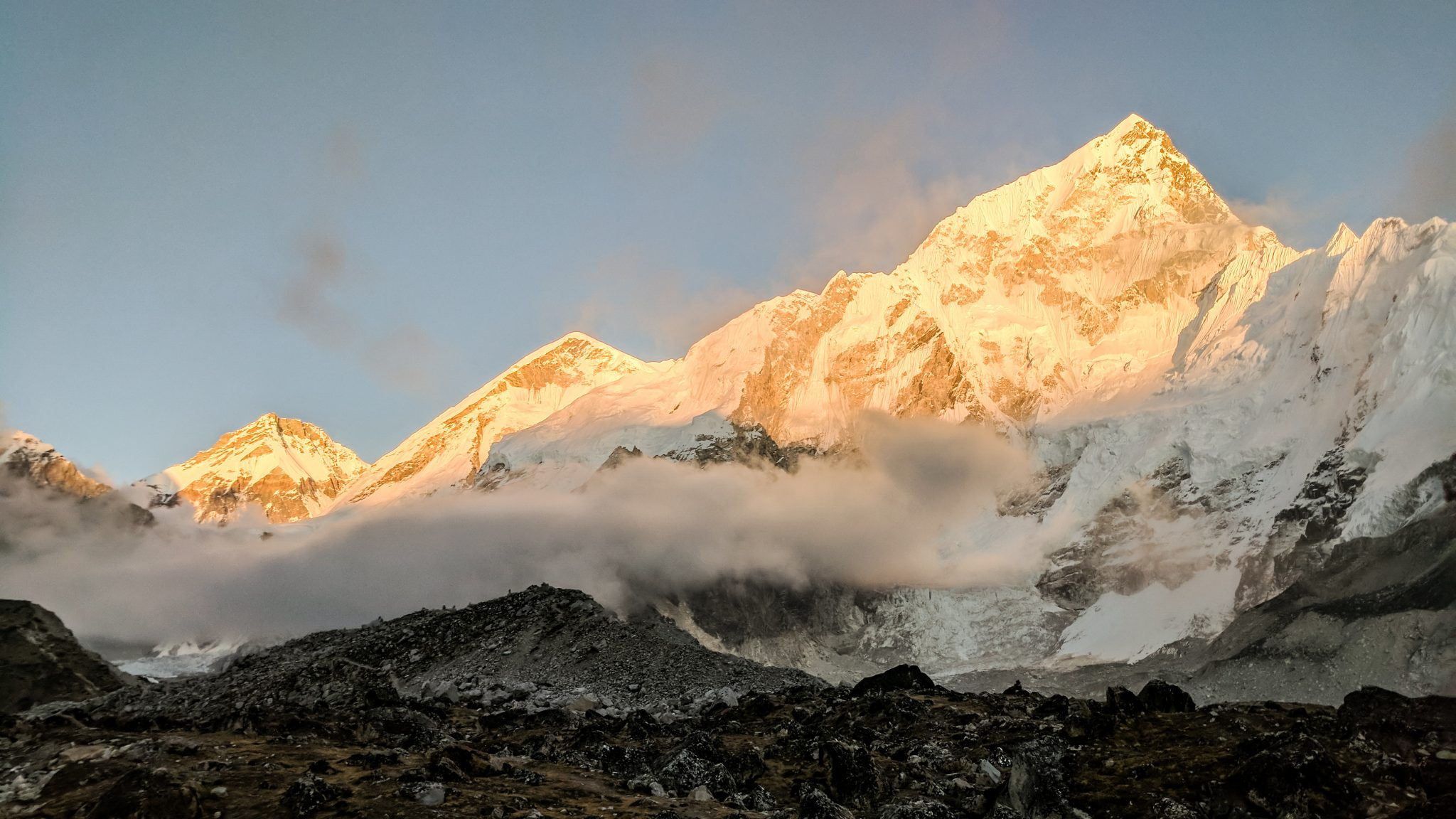 Everest Trek Sunset