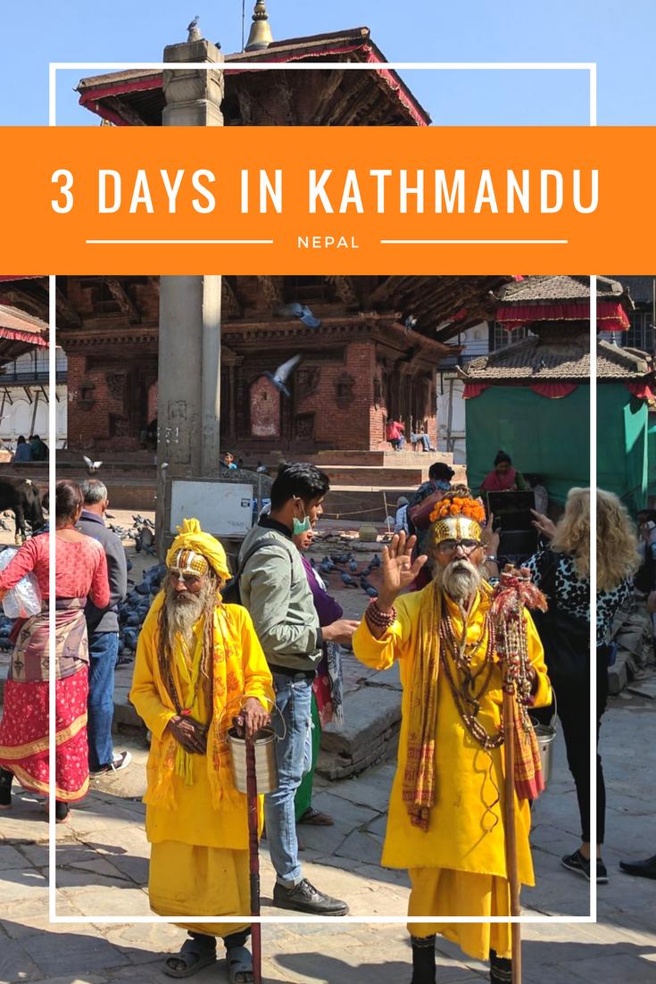 3 Days in Kathmandu