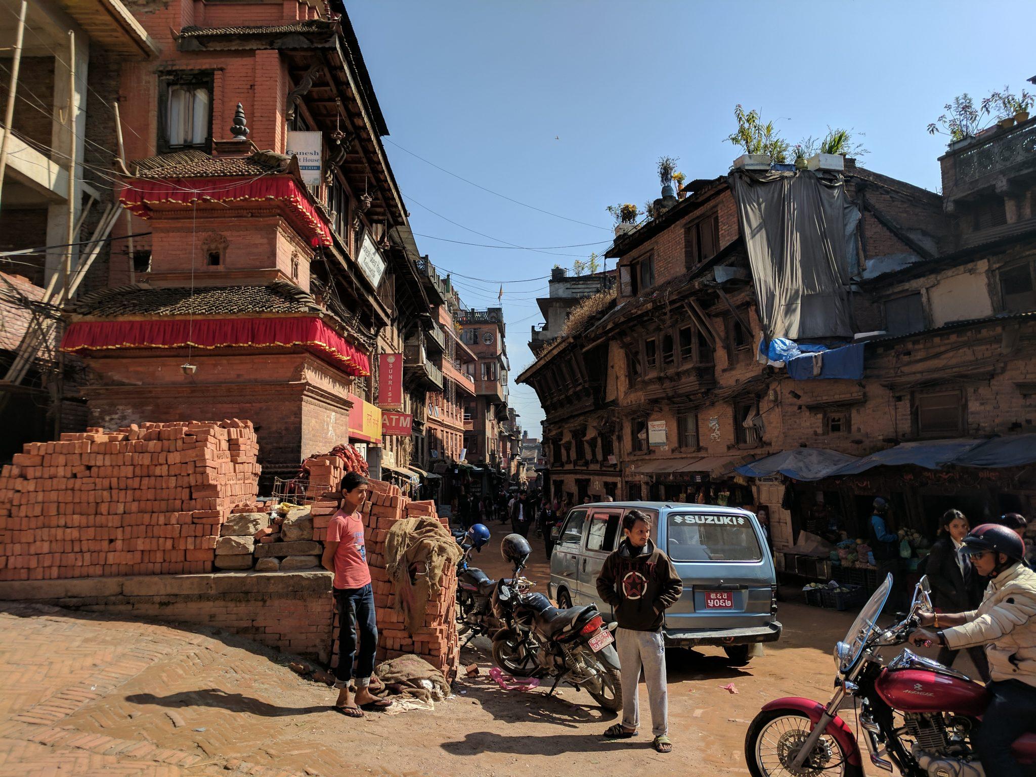 Street of Bhakhtapur