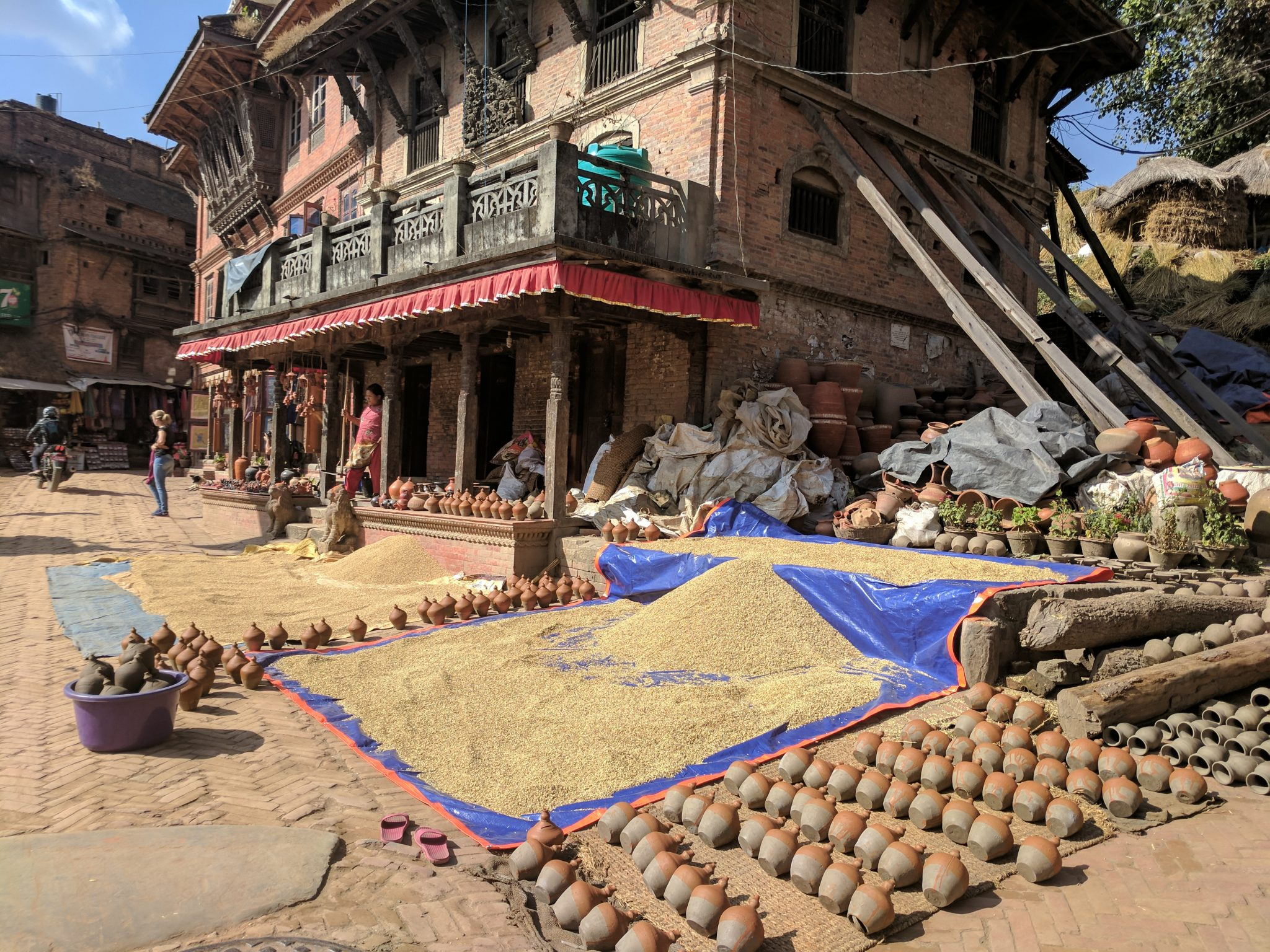 Pottery Square in Bhakhtapur