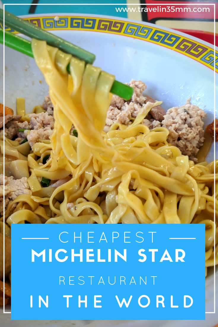 Cheapest Michelin Star Restaurant in the World