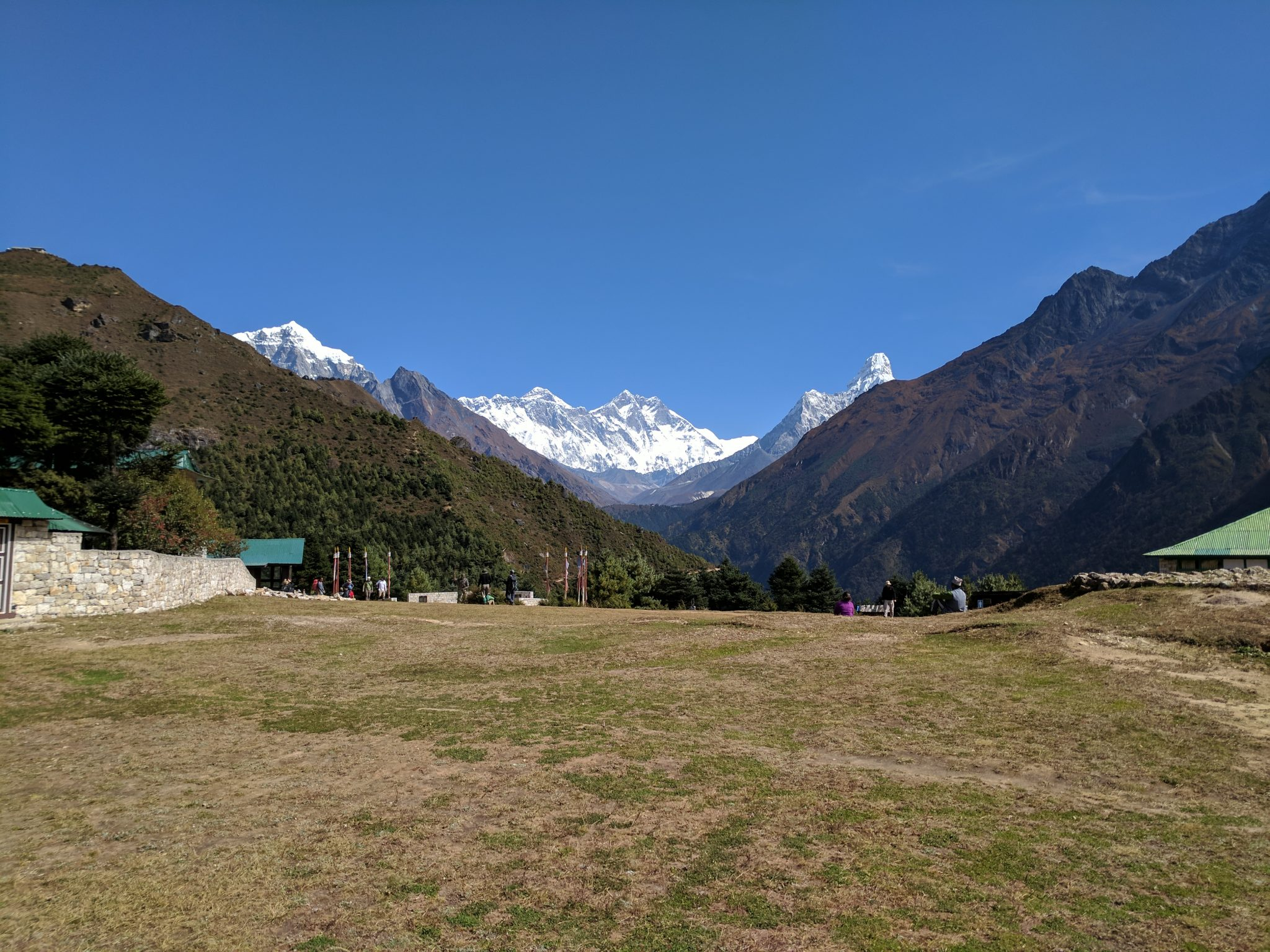 Everest as seen from Namche