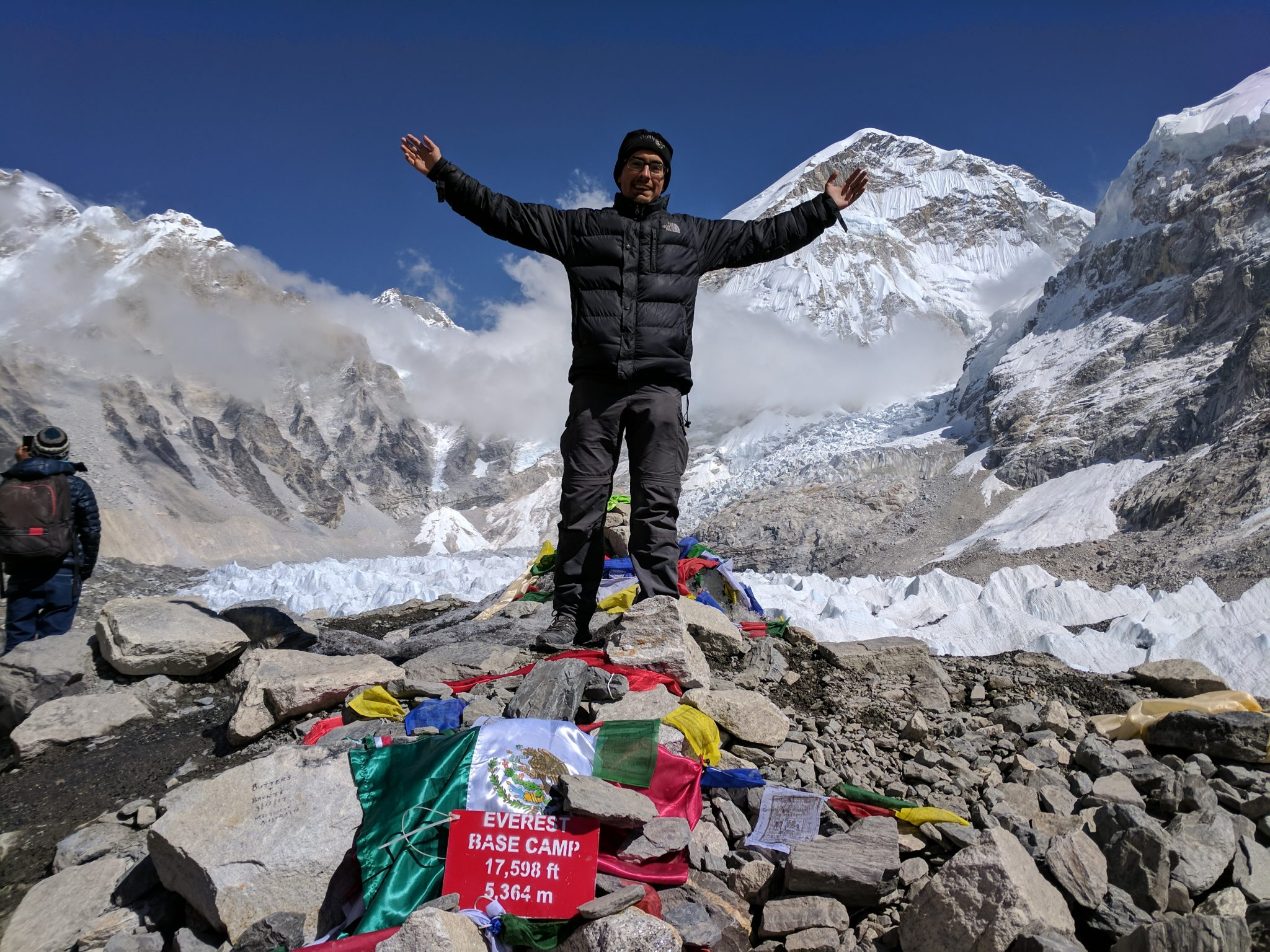 Me at the Everest Base Camp